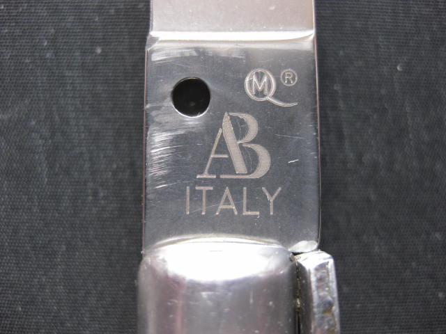 tang stamp Armando Beltrame AB ITALY
