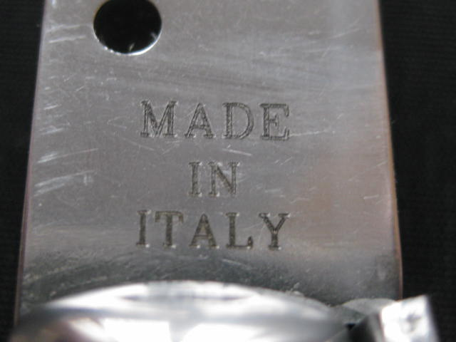tang etching MADE IN ITALY