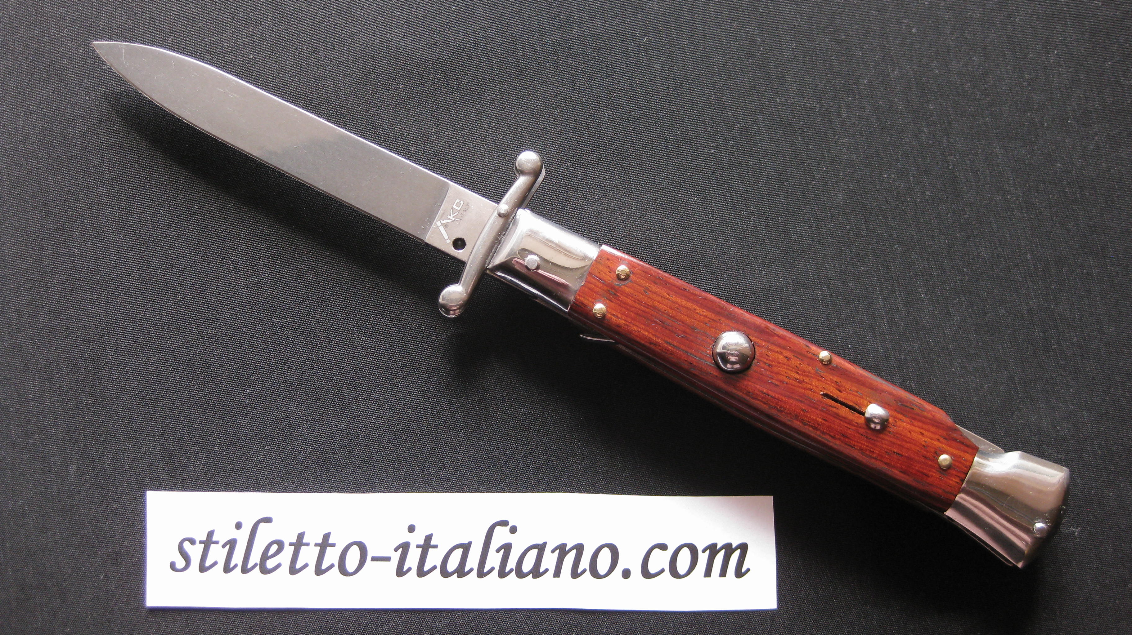 Stiletto 9 Swinguard Plain Cocobolo wood AKC