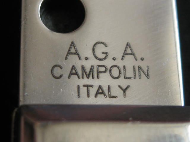 tang stamp A.G.A. Campolin Italy