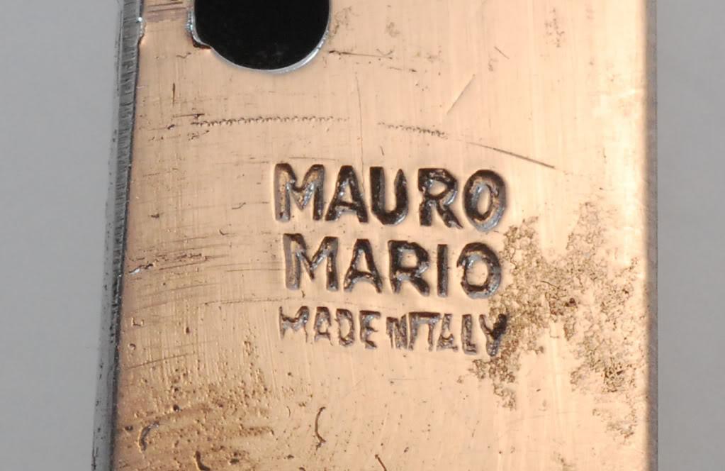 Mauro Mario tang stamp
